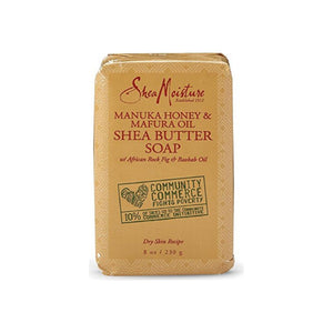 Shea Moisture Manuka Honey & Mafura Oil Shea Butter Soap 8 oz