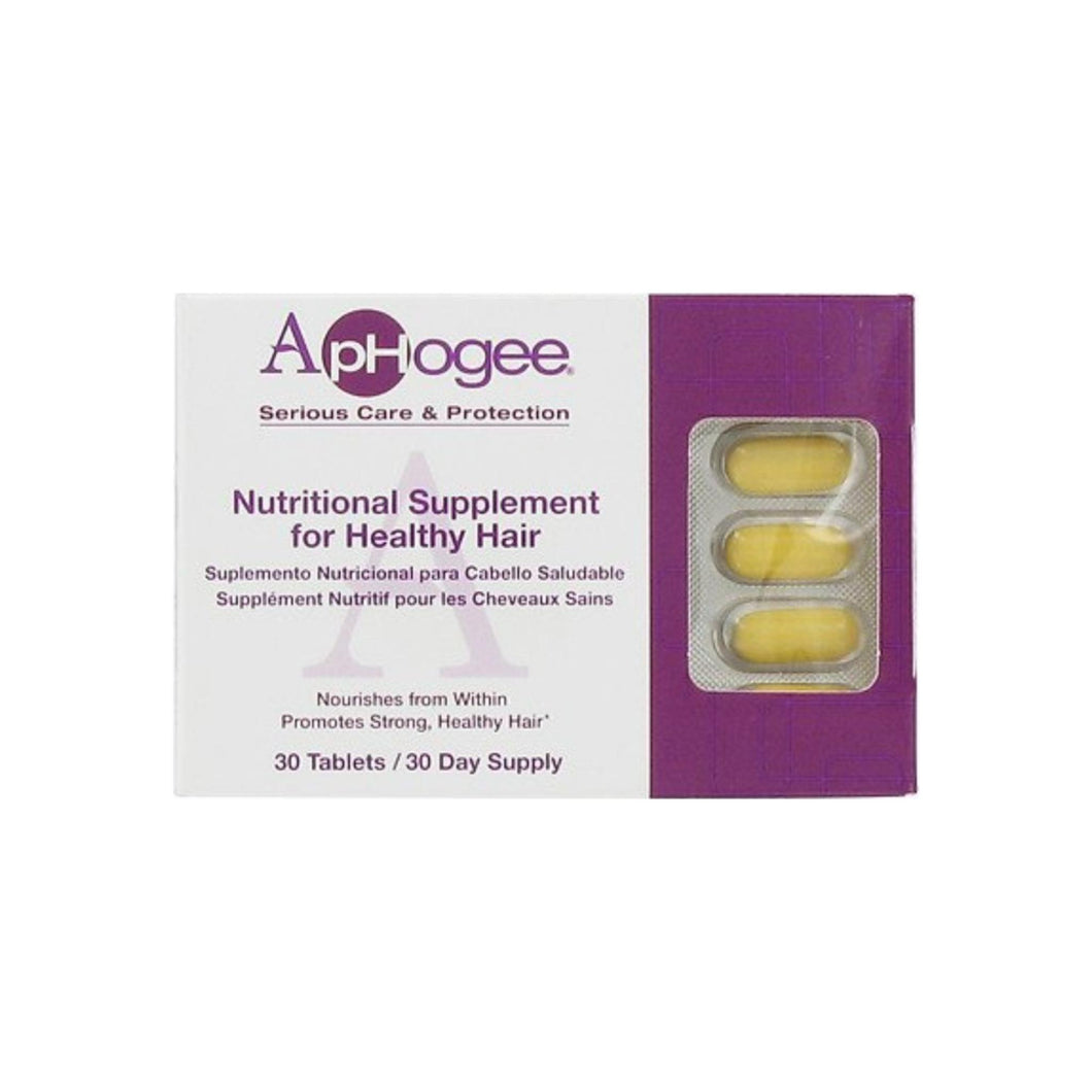 Aphogee Nutritional Supplement For Healthy Hair 30 ea
