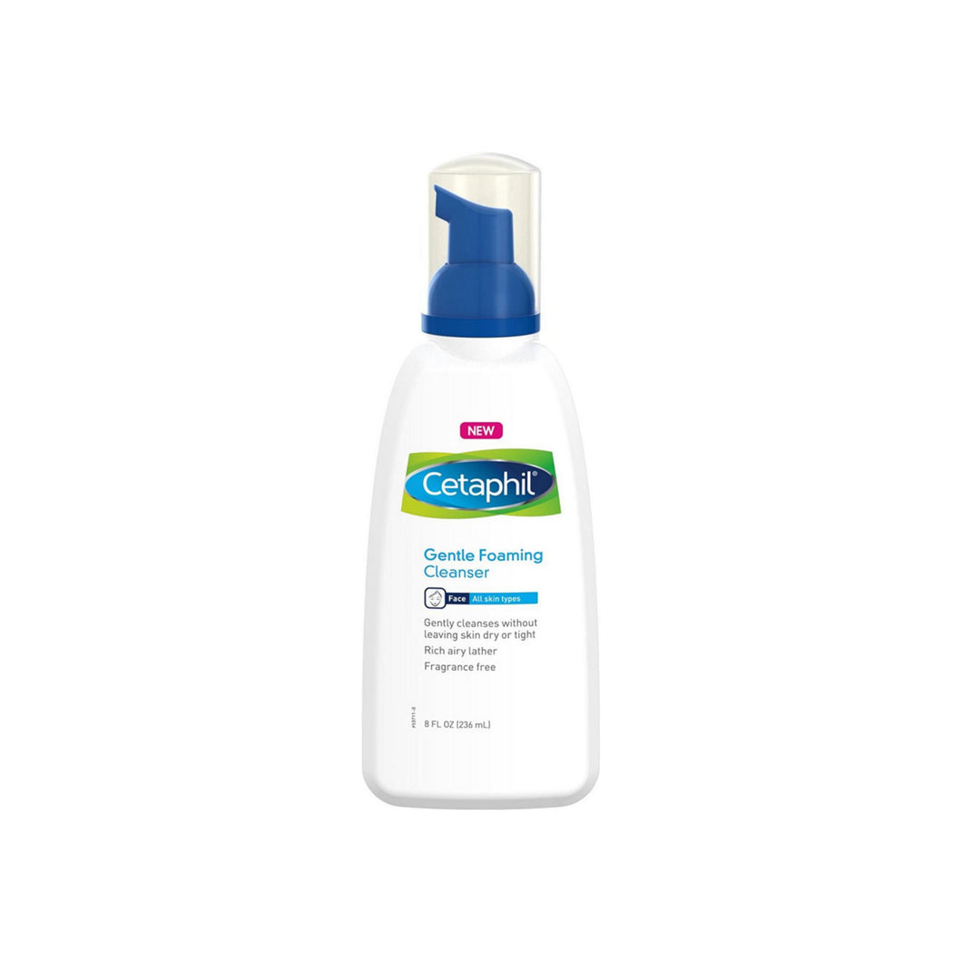 Cetaphil Gentle Foaming Cleanser 8 oz
