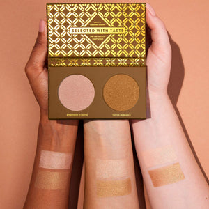 ZOEVA Caramel Melange Highlight Face Palette