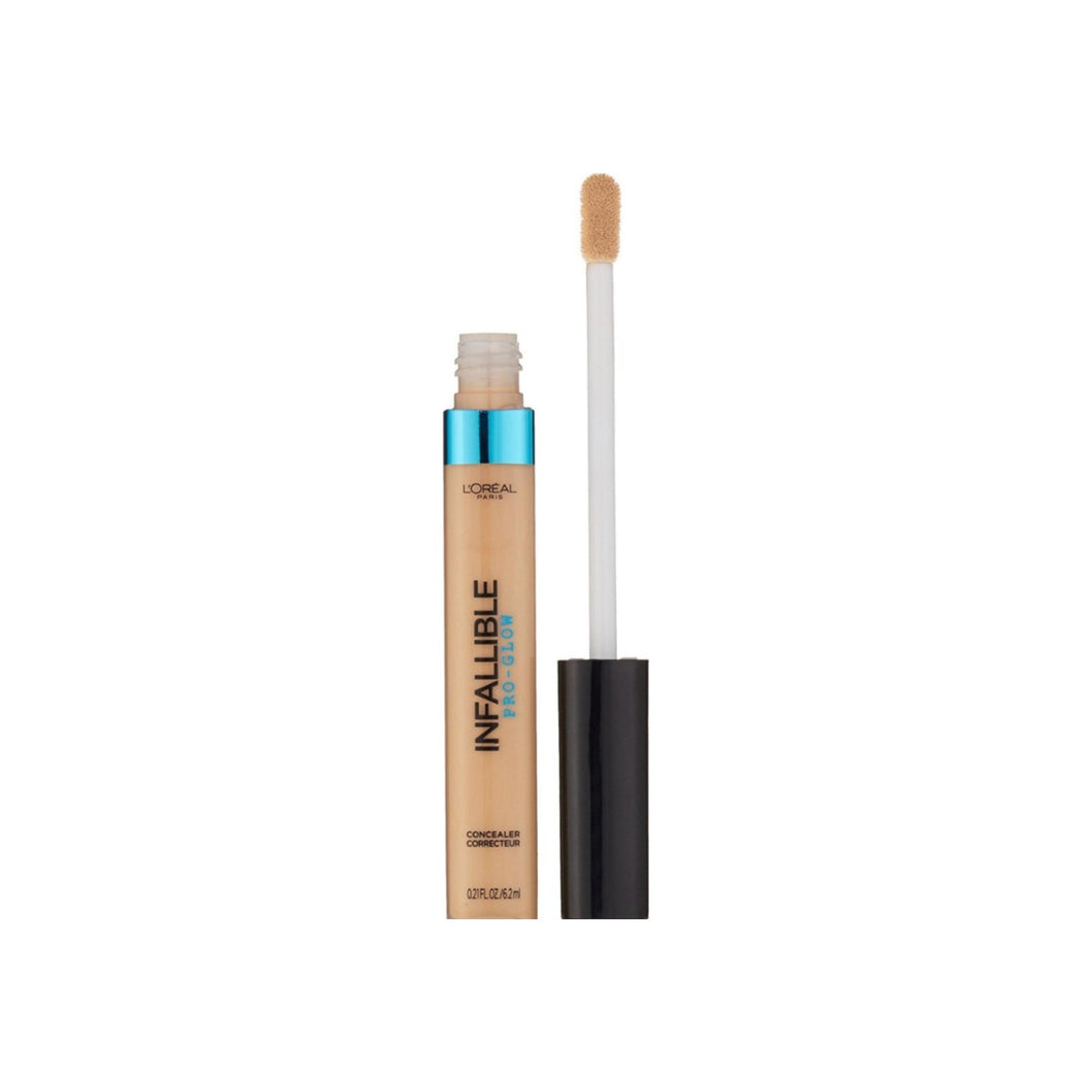 L'Oreal Infallible Pro Glow Concealer, Creamy Natural 0.21 oz [071249351796]