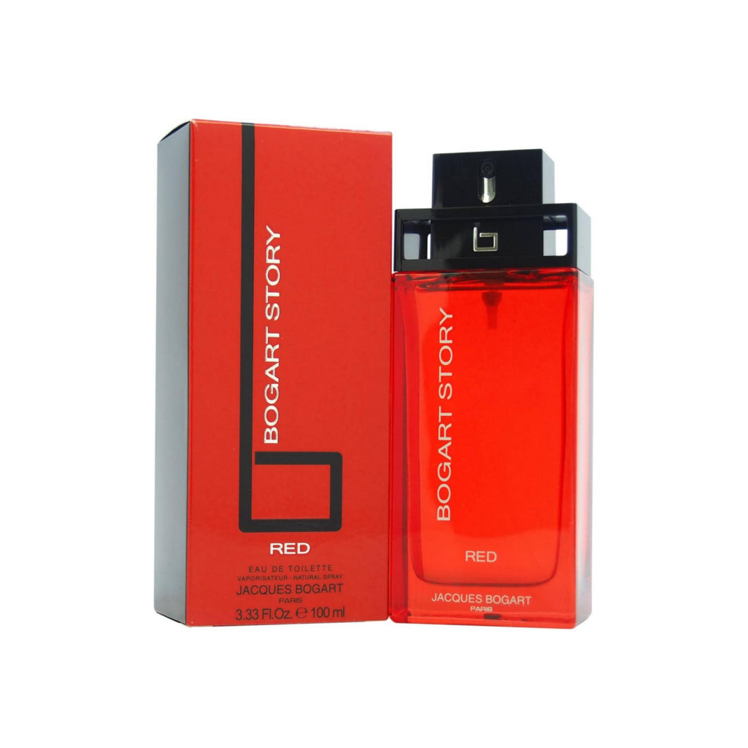 Jacques Bogart Story Red Eau de Toilette Spray 3.3 oz
