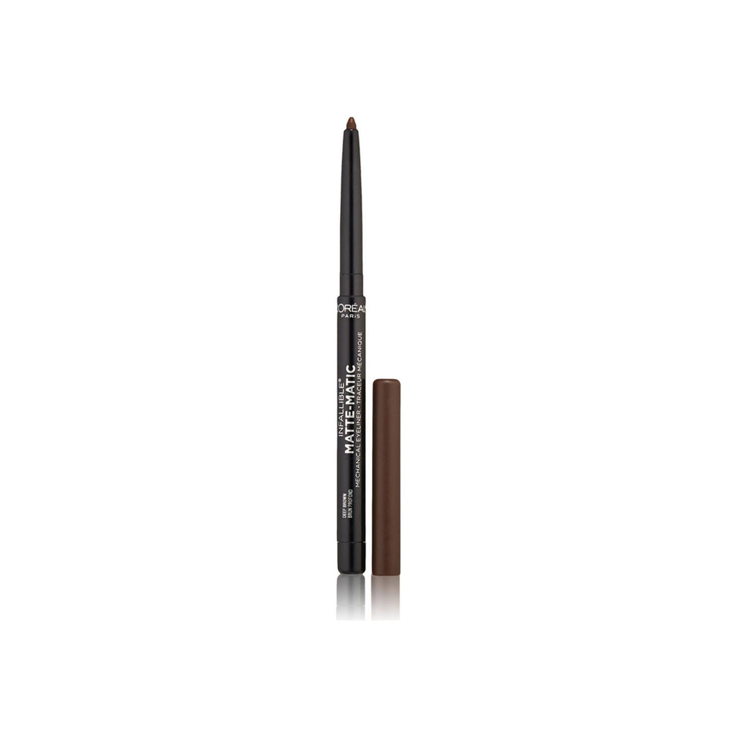 L'Oreal Paris Infallible Matte-Matic Mechanical Eyeliner, Deep Brown 0.01 oz