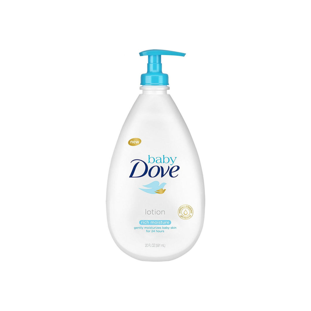 Baby Dove Lotion, Rich Moisture 20 oz