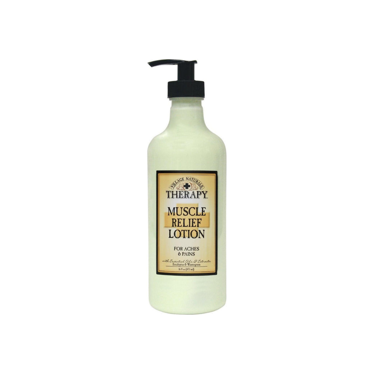 Village Naturals Therapy Muscle Relief Natural Lotion 16