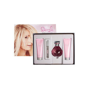 Paris Hilton Dazzle Eau de Parfum Spray Gift Set for Women 4 ea