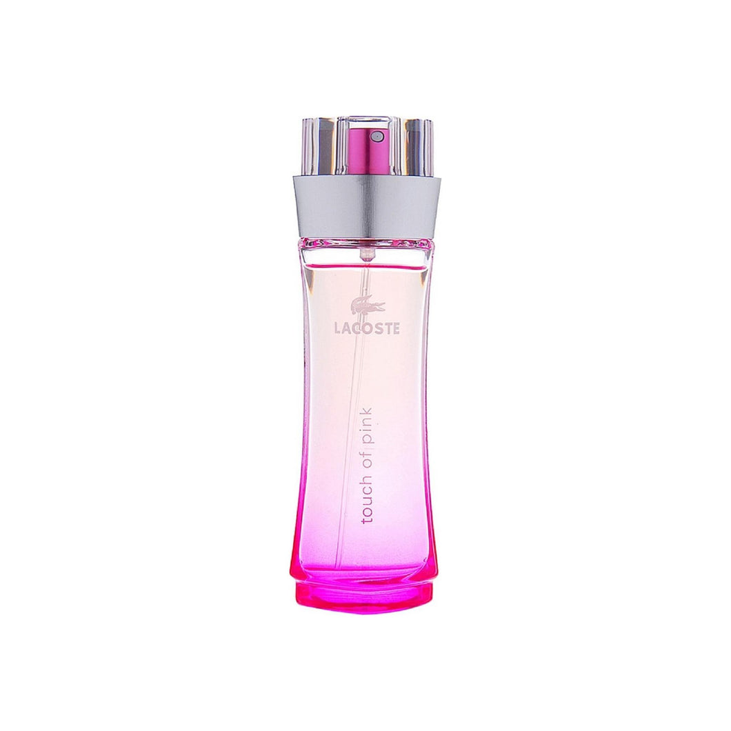 Touch of Pink by Lacoste Eau De Toilette Spray for Women 3 oz