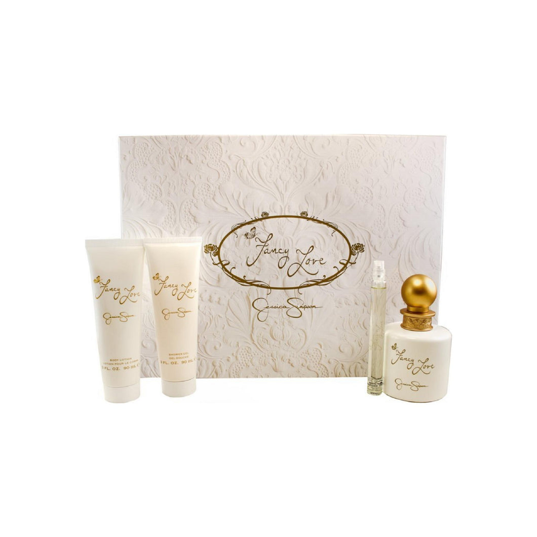 Jessica Simpson Fancy Love 4-Piece Gift Set For Women 1 ea