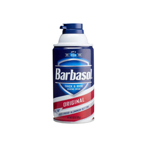 Barbasol Thick and Rich Shaving Cream, Original 10 oz