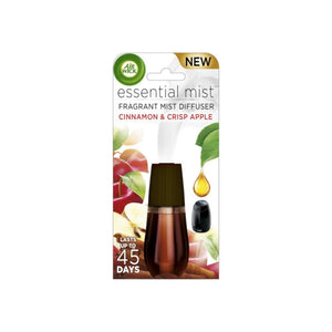 AIR WICK Essential Mist Refill, Cinnamon & Crisp Apple 1 ea