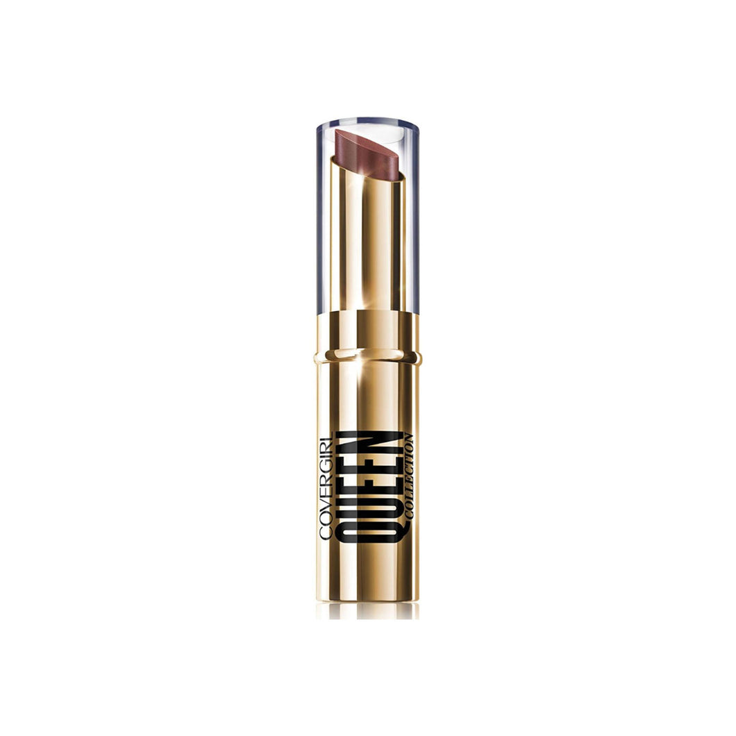 CoverGirl Queen Stay Luscious Lipstick, Monarch 0.12 oz