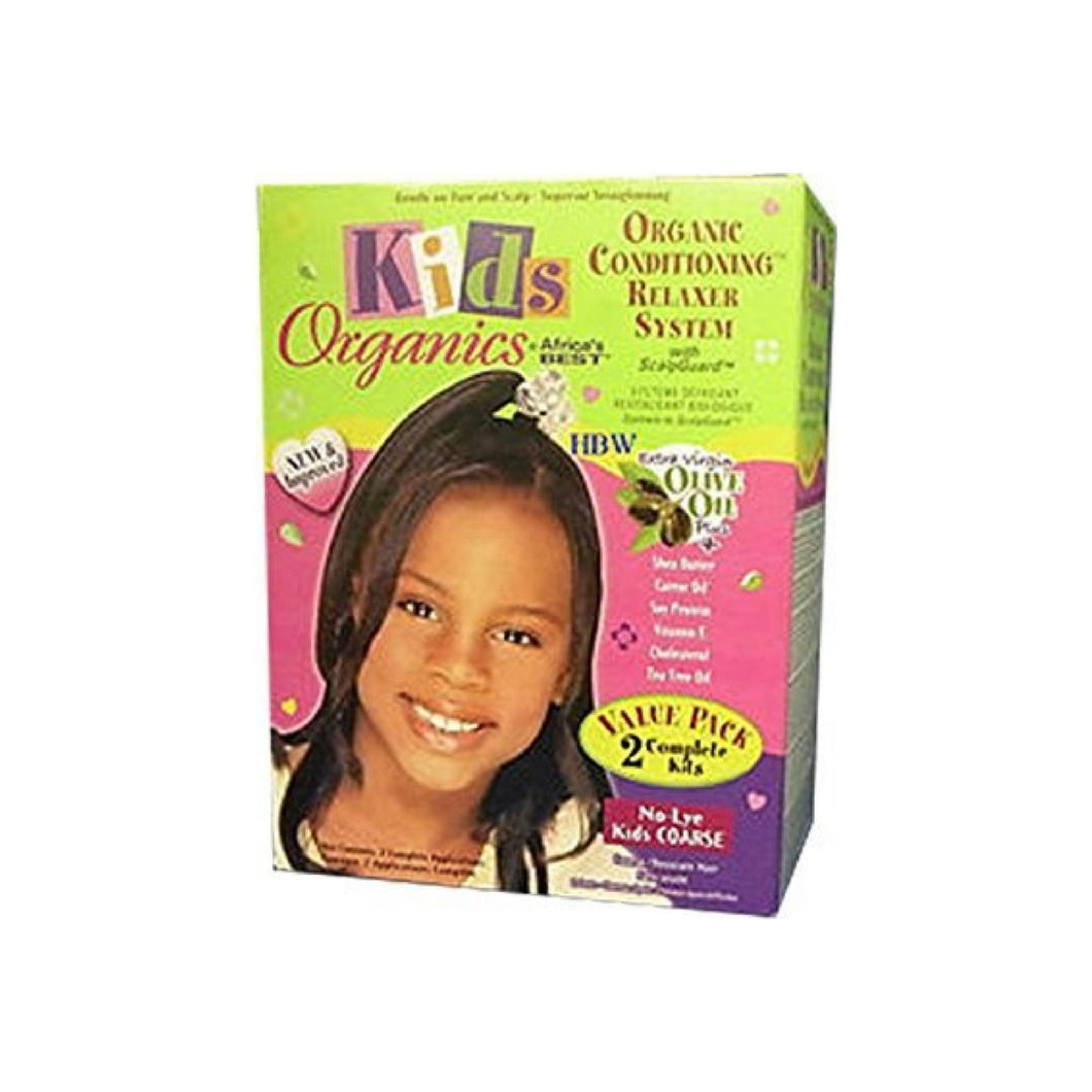 Africa's Best Kids Organic Relaxer Coarse Value Pack 1 ea
