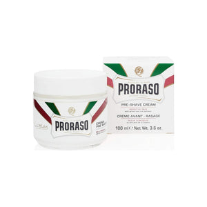 Proraso Pre-Shave Cream, Sensitive Skin 3.6 oz