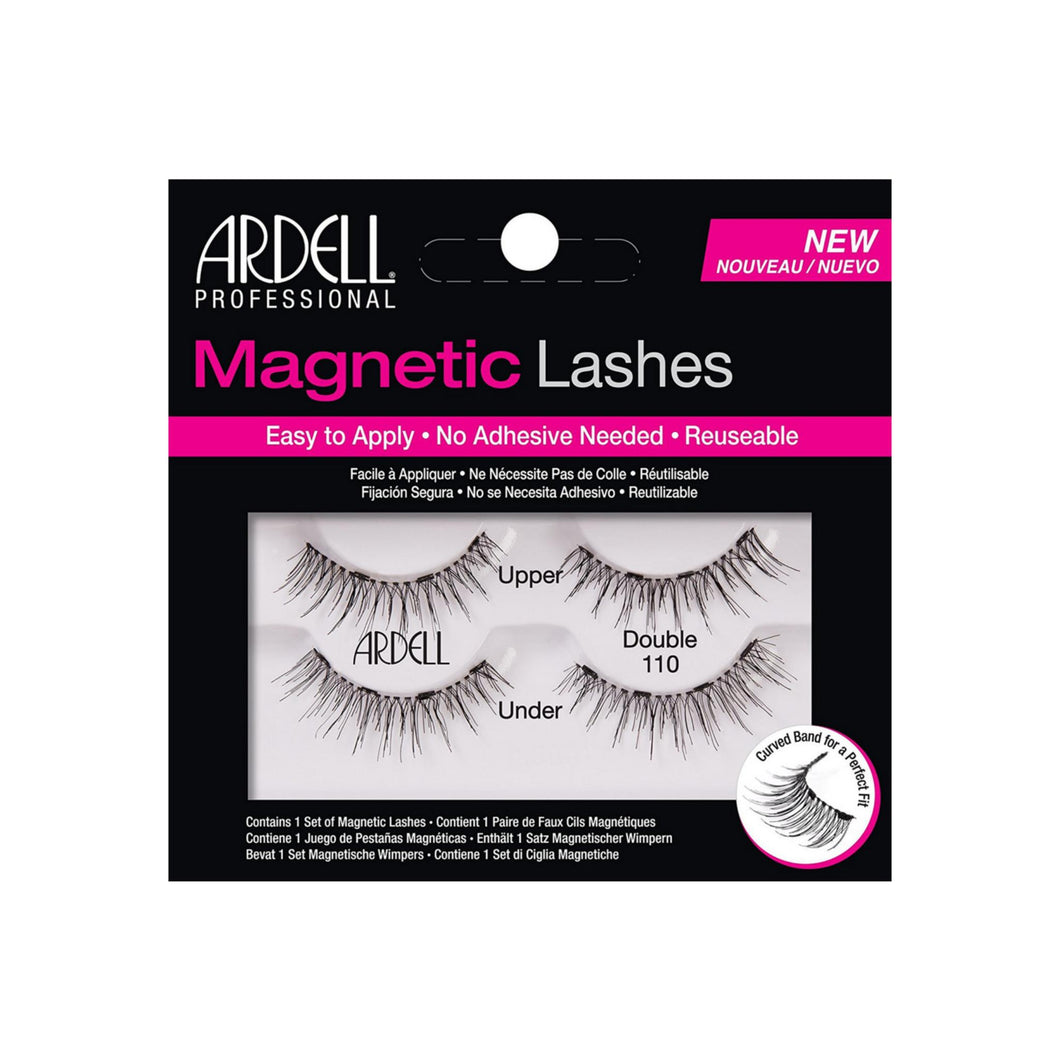 Ardell Magnetic Double Eyelashes, Black [110] 1 ea