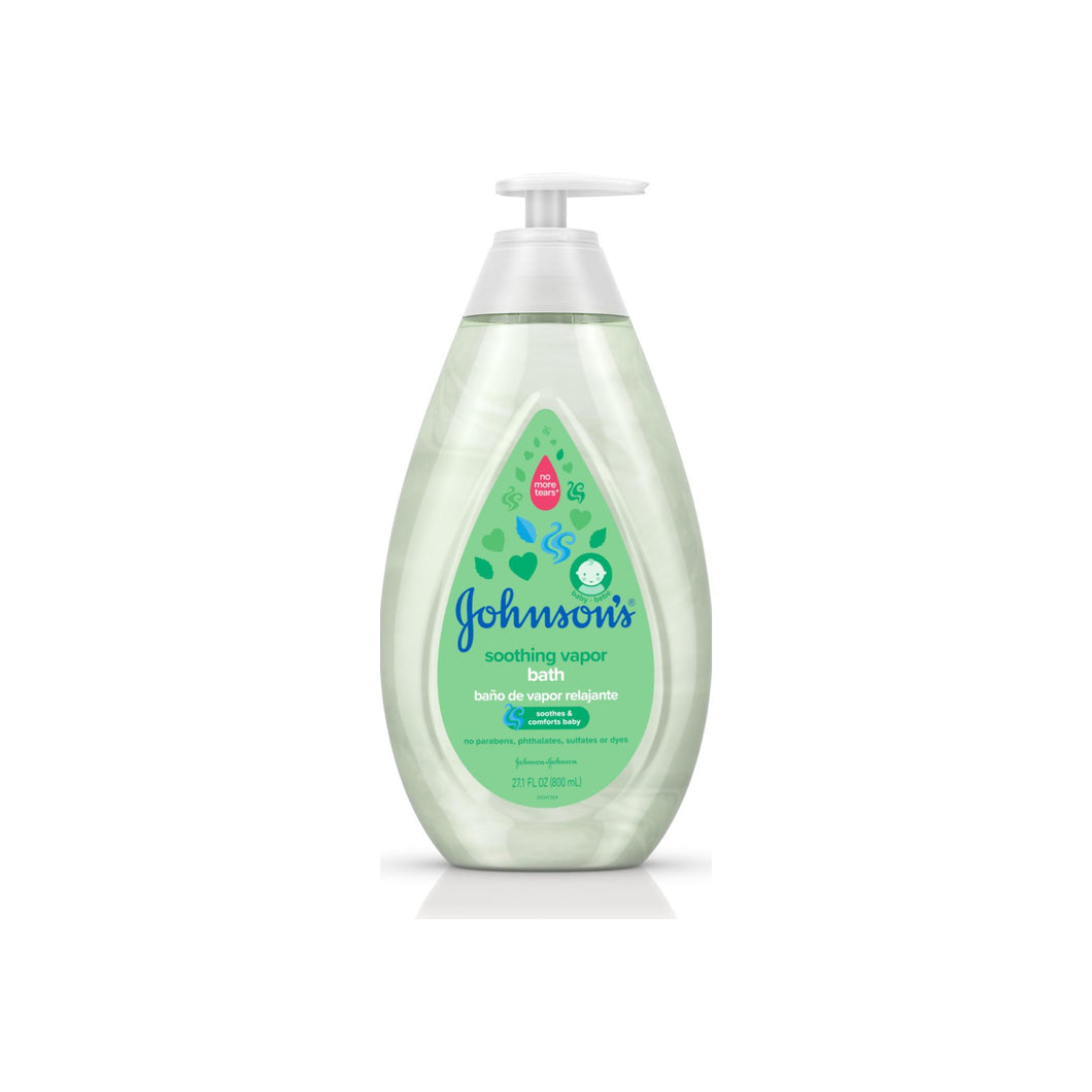 Johnson's  Baby Soothing Vapor Bath to Relax Babies, 27.1 fl. oz 27.1 oz