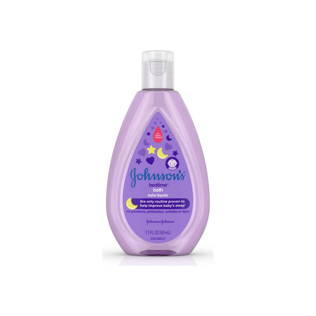 JOHNSON'S Tear-Free Bedtime Baby Bath with Soothing NaturalCalm Aromas 1.70 oz