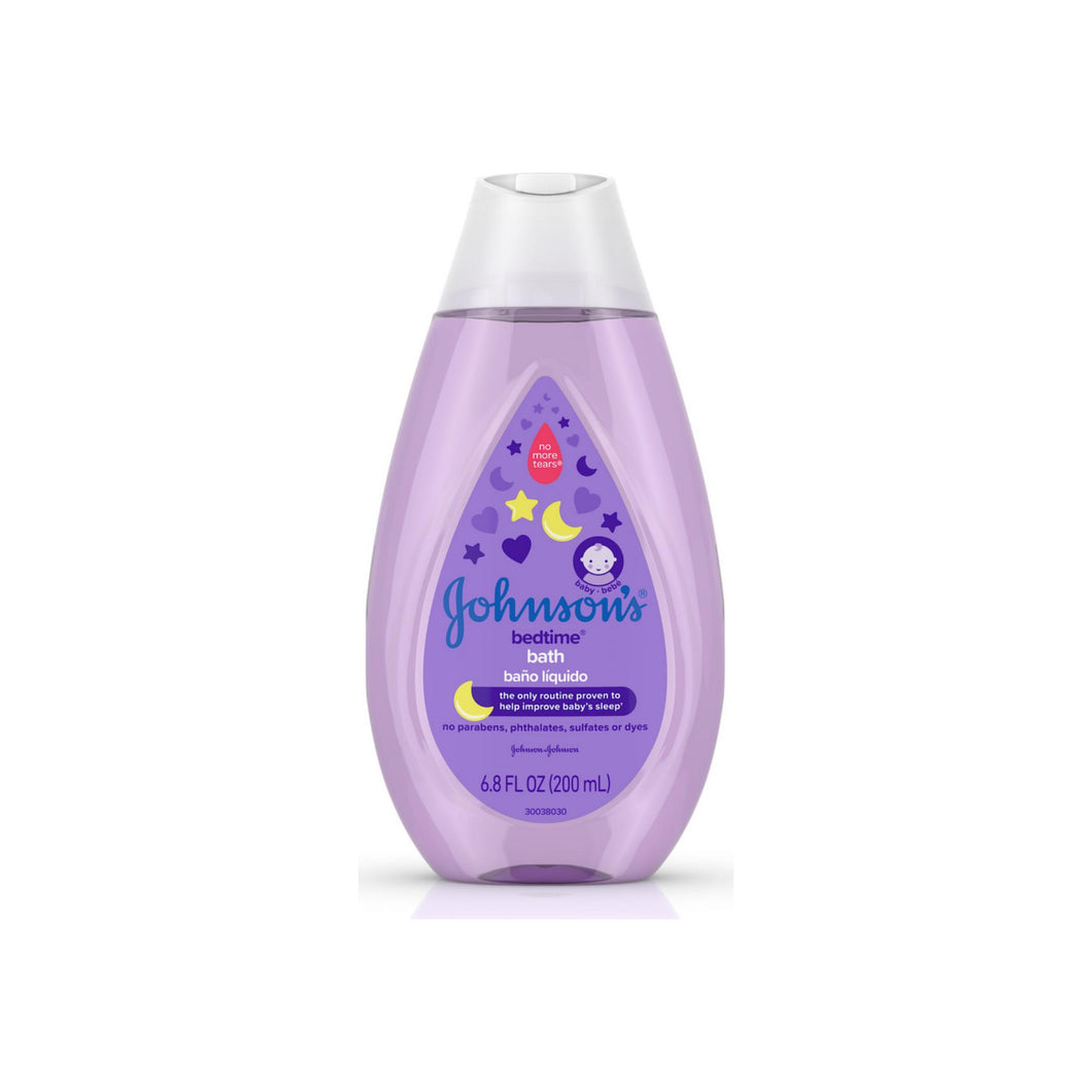 JOHNSON'S Tear-Free Bedtime Baby Bath with Soothing NaturalCalm Aromas 6.80 oz