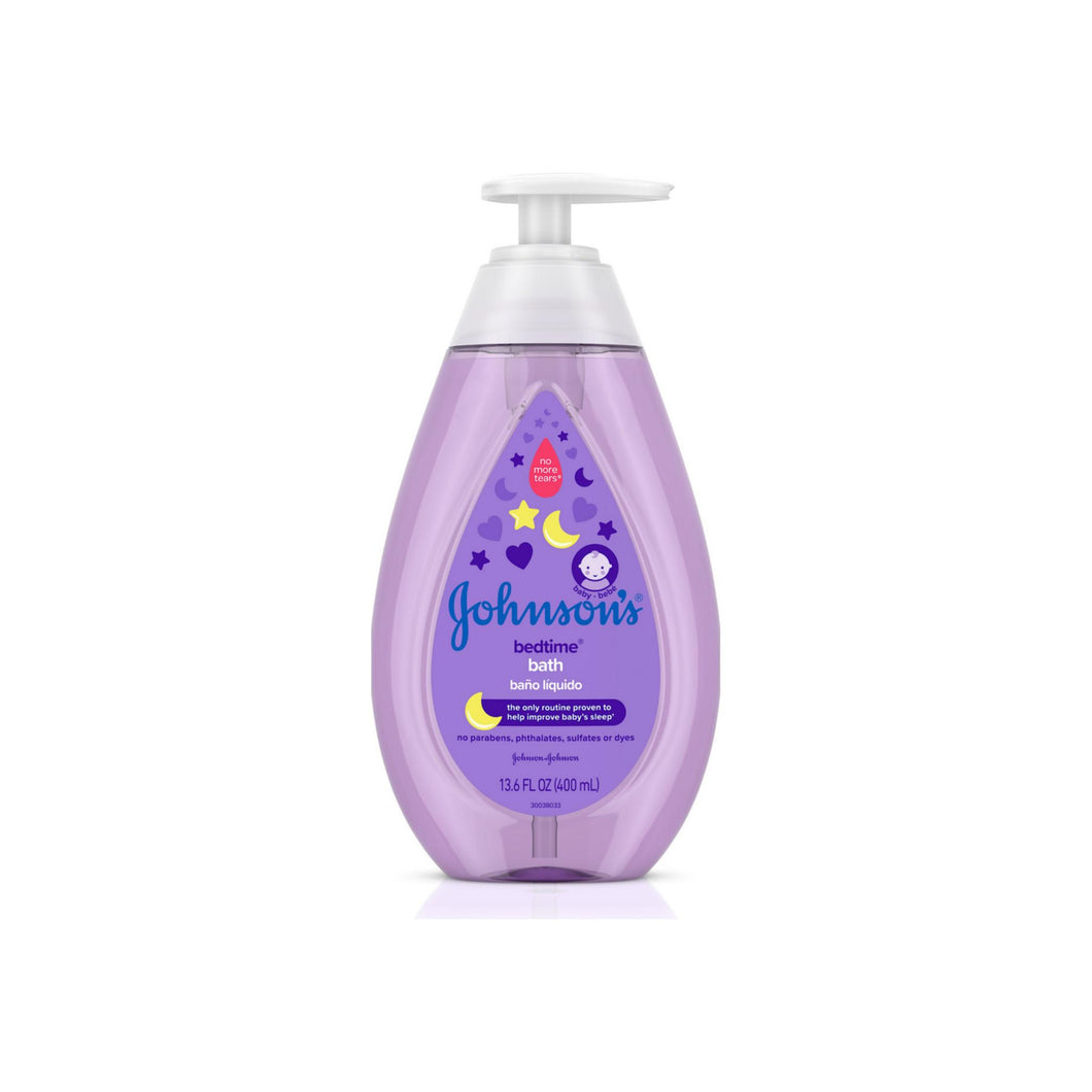 JOHNSON'S Tear-Free Bedtime Baby Bath with Soothing NaturalCalm Aromas 13.60 oz