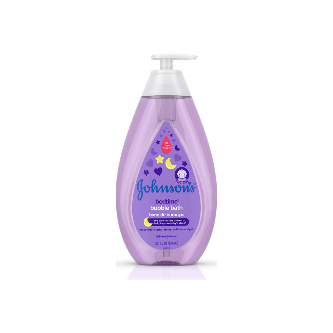JOHNSON'S Hypoallergenic Bedtime Baby Bubble Bath with NaturalCalm Aromas 27.10 oz