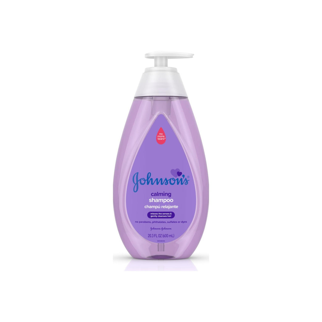 JOHNSON'S Calming Baby Shampoo with Soothing NaturalCalm Scent 20.3 oz