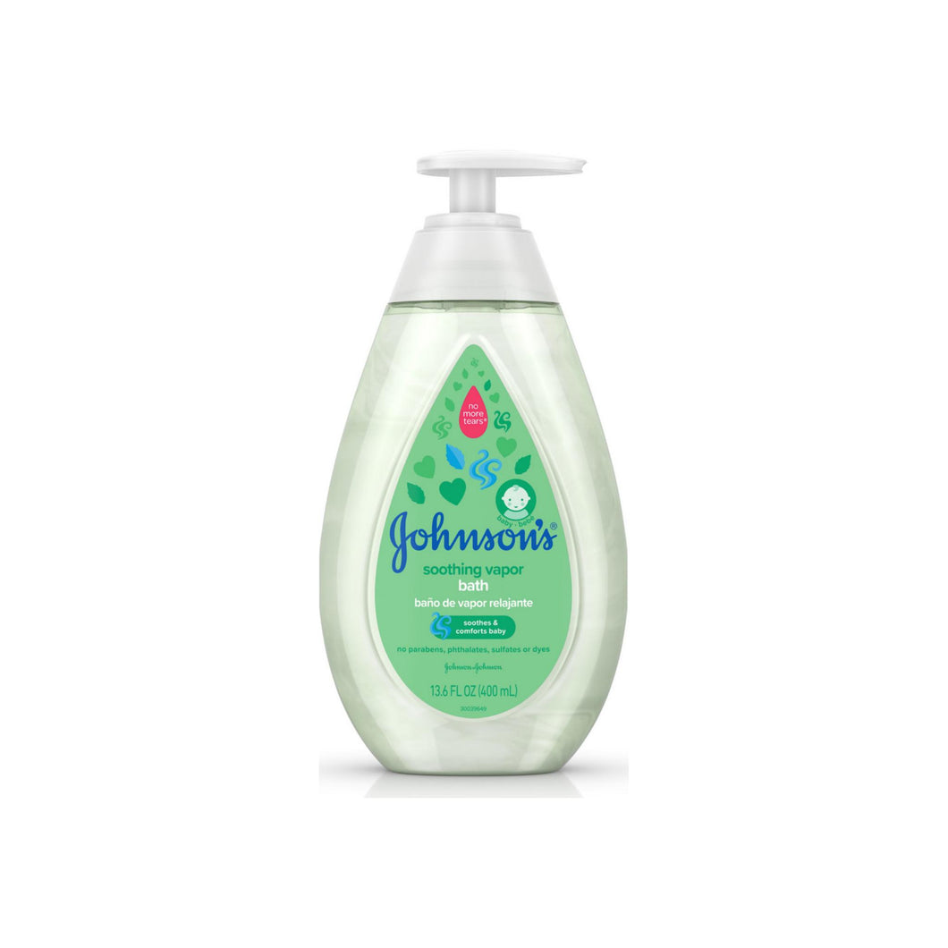 JOHNSON'S Baby Soothing Vapor Bath to Relax Babies 13.6 oz
