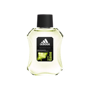 adidas  Eau de Toilette Spray for Men, Pure Game 3.4 oz