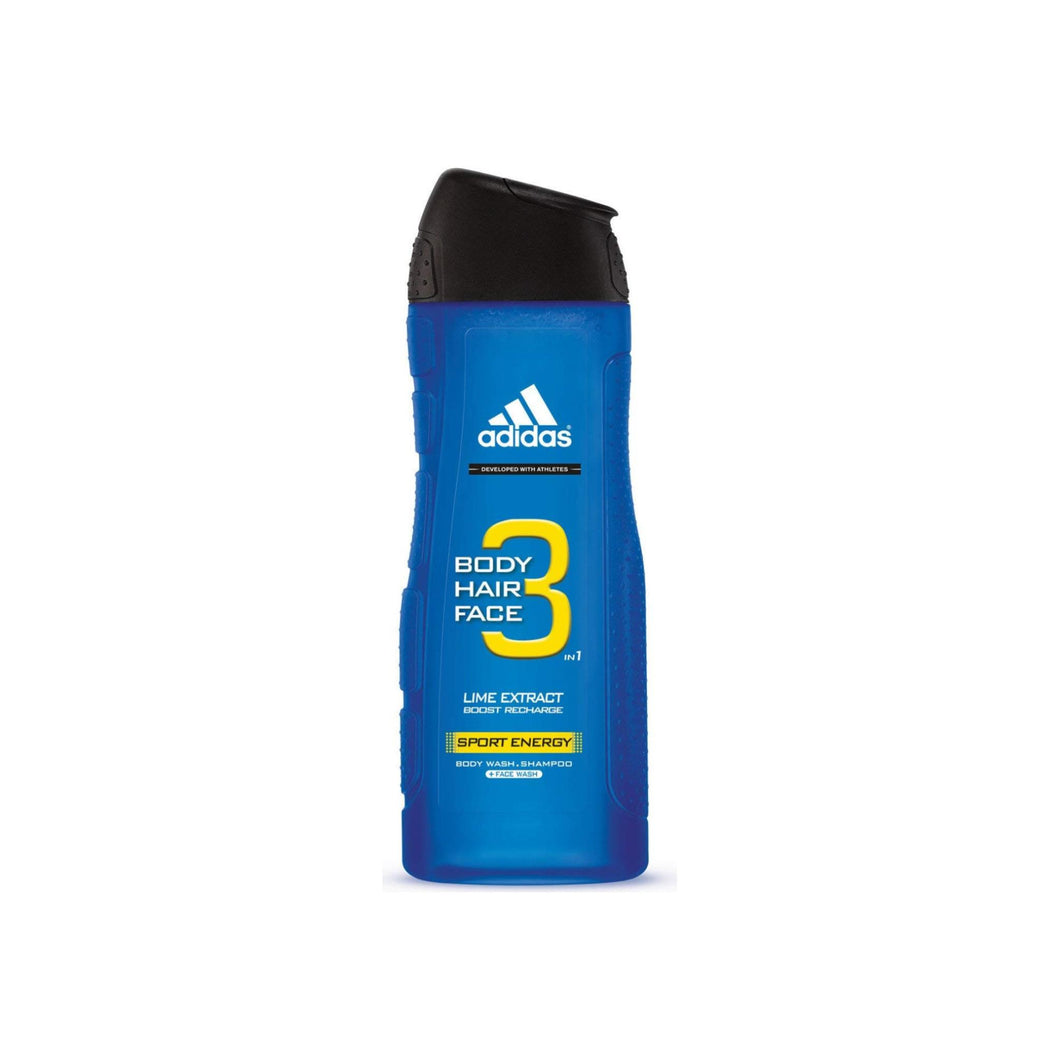 adidas Male Personal Care 3-in-1 Body Wash Sport Energy 16 oz