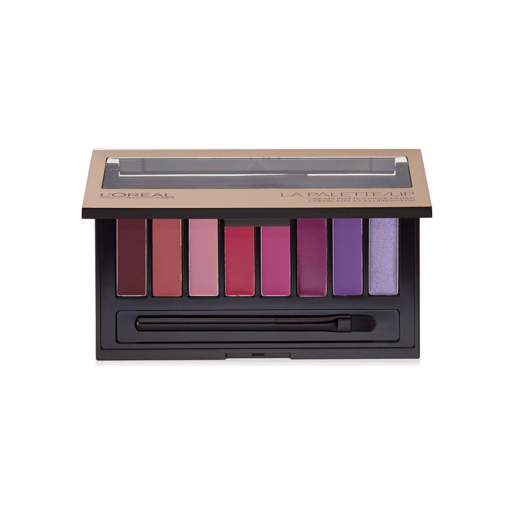 L'Oreal Paris Colour Riche La Palette Lip, Plum 0.14 oz