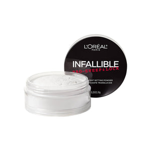 L'Oreal Paris Infallible Pro Sweep & Lock Loose Setting Powder, Translucent 0.28 oz