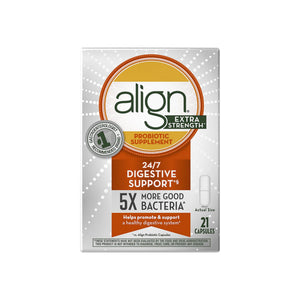 Align Extra Strength Daily Probiotic Supplement, Probiotics Supplement Capsules 21 ea