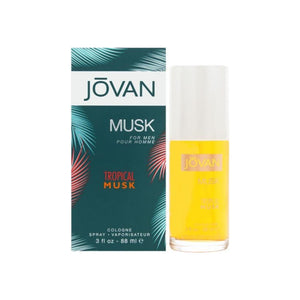 Jovan Tropical Musk Cologne Spray 3.0 oz