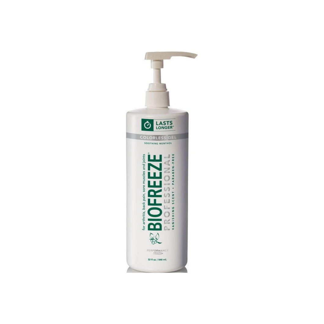 Cold Therapy Pain Relief Biofreeze PharmacopeiaMenthol Arnica Extract and Aloe Gel 32 oz