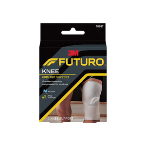 "Knee Brace Futuro Comfort Lift Medium SlipOn 2512 to 28"" Circumference Left or Right Knee - Pharmapacks"