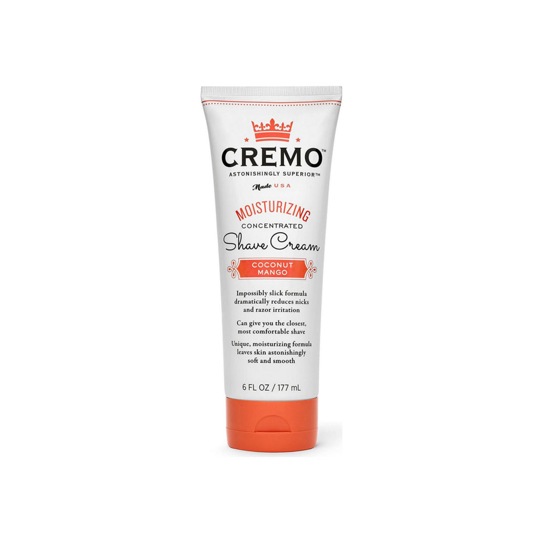 Cremo Moisturizing Shave Cream Coconut Mango For Women 6 oz