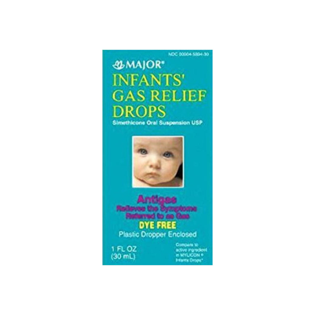 Major Infant Gas Relief Major 40 mg  06 mL Strength Drop - 1 oz / 30 mL