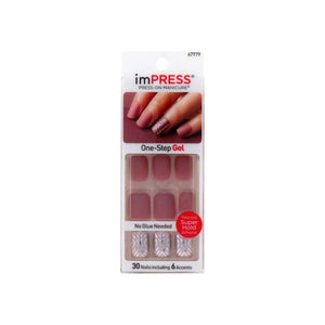 KISS Impress Press-On Nails One Step Gel So Unexpected 1 ea