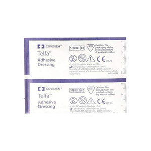 Covidien Adhesive Dressing Telfa 2 X 3 Inch 100% Cotton Rectangle Clear Sterile 1 ea