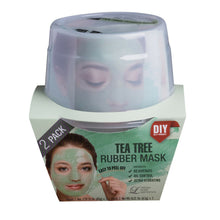 Load image into Gallery viewer, LINDSAY HOME AESTHETICS 2 Pack Tea Tree Rubber Mask  5.04  oz