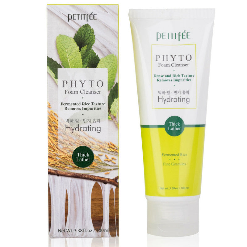 PETITFEE Phytho Foam Cleanser  Hydrating 3.38  oz