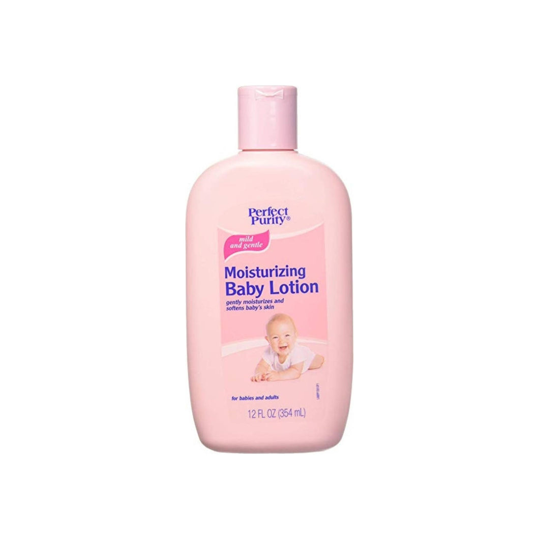 DAVION INC. Perfect Purity Baby Lotion For Soft And Smooth Skin, 12 oz