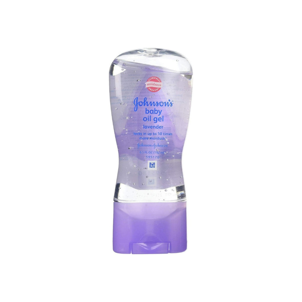 Johnson's, Baby Oil Gel, Lavender  6.5 oz