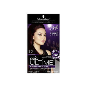Schwarzkopf Color Ultime Permanent Hair Color Cream, 1 ea