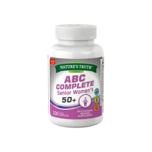 Nature's Truth ABC Complete Senior Women's 50+, 100 ea