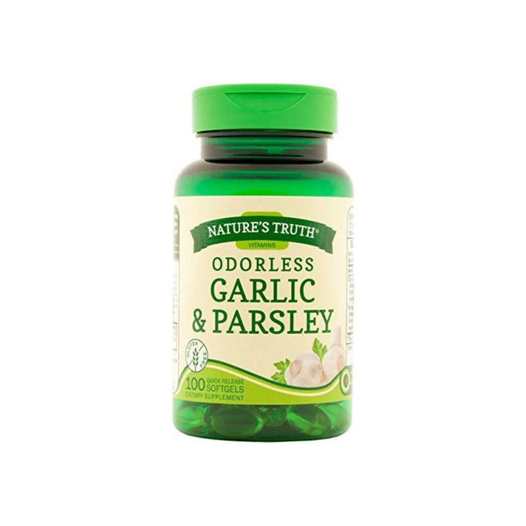 Nature's Truth Odorless Garlic & Parsley, 100 ea
