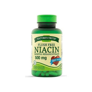 Nature's Truth Flush Free Niacin 500mg,  100 ea