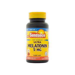 Sundance Vitamins  Ultra Melatonin 5 mg,  180 ea