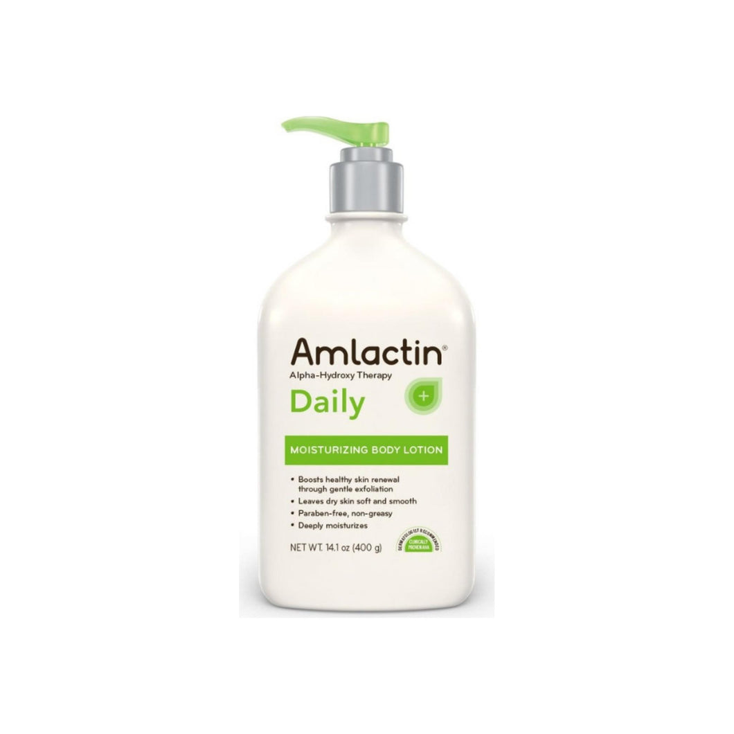 Amlactin Daily Moisturizing Body Lotion, 14.1 oz