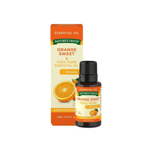 Nature's Truth Sweet Orange Aromatherapy Essential Oil, 0.51 oz