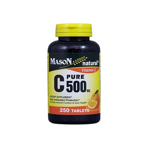 Mason Natural C 500 mg Pure Dietary Supplement, 250 ea