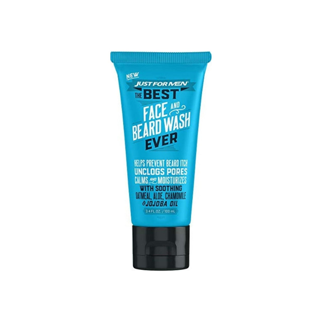 Just For Men The Best Face & Beard Wash Ever, 3. 4 oz